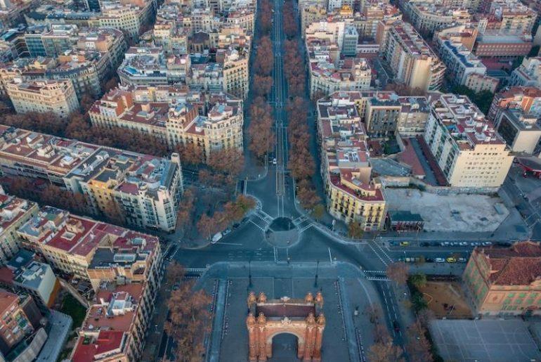 Restricciones de tráfico en Barcelona