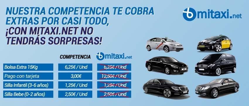 Reserva tu taxi en Almería al teléfono 968 976 386