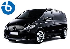 alquiler con conductor minivan